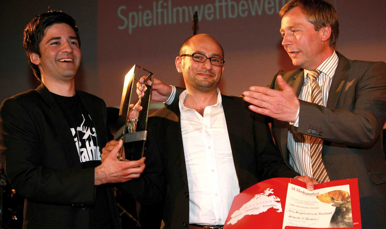 Vergabe des Hauptpreis DER FLIEGENDE OCHSE 2009