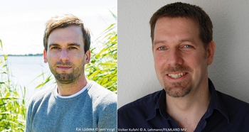 links: Kai Lüdeke © Jens Voigt / rechts: Volker Kufahl © André Lehmann/FILMLAND MV