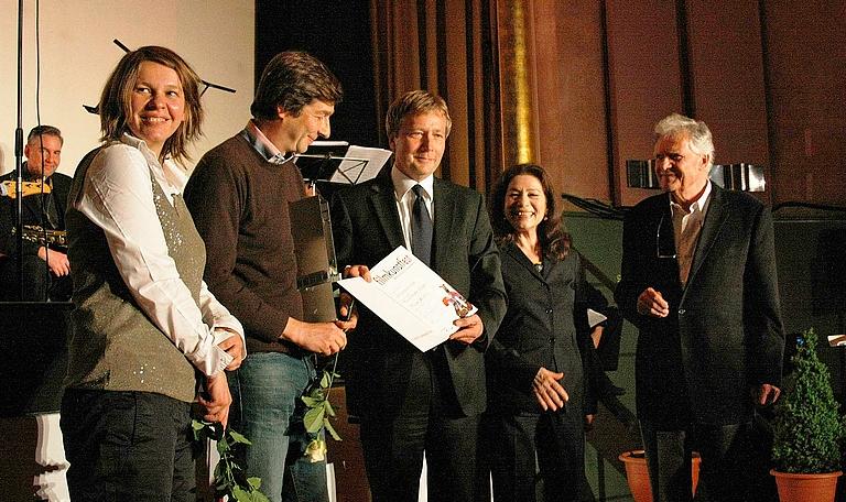 Verleihung des Hauptpreis 2010 DER FLIEGENDE OCHSE